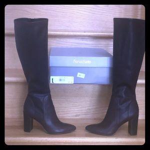 Franco Sarto burgundy boot
